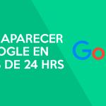 Como aparecer en Google en menos de 24 horas